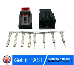 4PIN Male Female Tail Light Repair Plug Connector For VW Audi Skoda 7N0972704