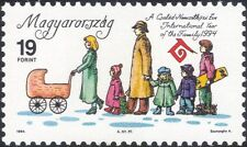 Hungary 1994 IYF/International Year of Family/Children/Animation 1v (n45927)