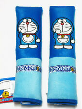 Doraemon Car Accessory: 2 pcs Seat Belt Shoulder Pad Covers NWT #C