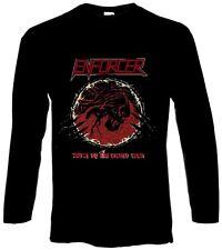 ENFORCER - Death By Fire - Longsleeve Longarm Shirt - Größe Size XXL - Neu