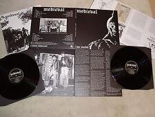 MEDIEVAL - One Morbid DLP (NEW*LIM.ED. 250*BLACK VINYL*RAVEN*BLITZKRIEG*VENOM)