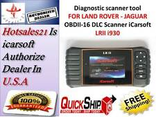 LAND ROVER JAGUAR Car Diagnostic tool Scanner SRS ABS ENGINE  iCarsoft LRII i930