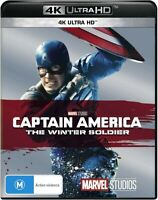 CAPTAIN AMERICA WINTER SOLDIER 4K ULTRA HD BLURAY BRAND NEW WRAPPED