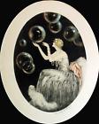 Print - Louis Icart - Bubbles
