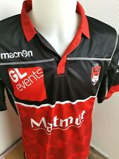 superbe maillot de rugby LOU rugby lyon marque macron taille xl