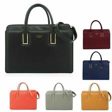 Faux Leather Outer Patternless LYDC Handbags