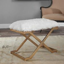 Strange Uttermost Vanity Stools Benches For Sale Ebay Cjindustries Chair Design For Home Cjindustriesco