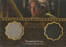 "Outlander Season 2 - DM1 Dominique Pinon ""Master Raymond"" Dual Wardrobe Card"