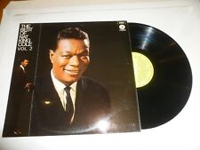 NAT KING COLE - The Best Of - 1968 UK lime green label 15-track LP compilation