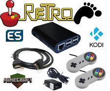Retro Foot/Pie Retro preconfigured gaming emulator, 2 controllers & 4gb SD card