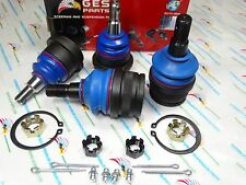 97-99 Ram 1500 2WD Premium Quality 4 NEW Ball Joints 2 Upper & 2 Lower