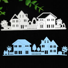 House Cutting Dies Stencil Scrapbooking Cards Paper Embossing Craft DIY Metal