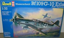 Messerschmitt Bf109G-10 & Drop Tank LT Hartmann Ace REVELL 04888 échelle 1/32.