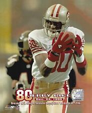 Jerry Rice - San Francisco 49ers - Reception Yardage Record picture 8x10 photo