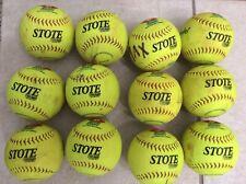 One Dozen 44 Core Softballs