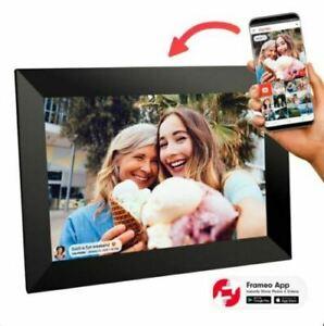 "Sylvania SDPF1095 Wi-Fi Cloud Digital Picture Photo Frame Touchscreen 10"", Black"