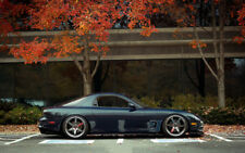 """MAZDA RX7 A1 CANVAS PRINT POSTER FRAMED 33.1"""" x 21.4"""""""
