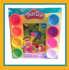 Play-Doh Numbers, Letters 'n Fun Set With 8 Colors