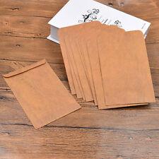 10pcs Retro Paper Envelopes Wax Seal Envelope Postcard Package 11*16cm Vintage
