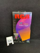 (CK) Sealed RCA HI-FI STEREO T120 - UP TO 6HRS OF PREMIUM DAILY USE - BLANK VHS