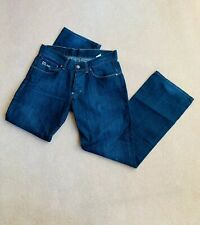 G Star Raw L 32 W 32 Blue Jeans 3301 Trousers Regular Relaxed