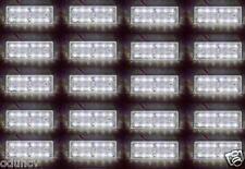 20x 24v SMD 12 Leds Blanco PARTE DELANTERA luces de marcaje Remolque