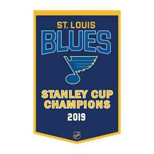 2019 ST. LOUIS BLUES STANLEY CUP CHAMPIONS DYNASTY BANNER NEW