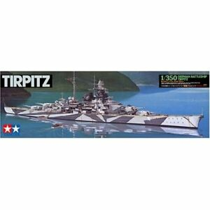 Tamiya 1/350 Ship Series No.15 German Battleship Tirpitz Model Kit 78015