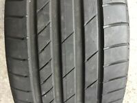 1 X 225 45 17 PART WORN KUMHO ECSTA PS71 TYRE WITH 6MM TREAD 225/45 R17 91Y