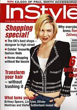 InStyle November 2003 Renee Zellweger cover
