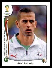 Panini World Cup 2014 - Islam Slimani Algérie No. 601
