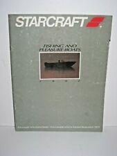 1992 Starcraft Boats Catalog Brochure