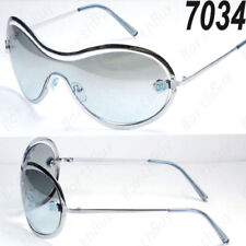 New DG Shield Mens Womens Designer Sunglasses Shades Retro Vintage Blue Fashion