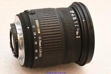 Nikon Fit Sigma DC 17-70mm Lente de F2.8-4.5 Buen Estado