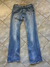 G-STAR Jeans Boot Cut 32/36 Extremly USED