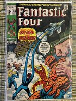 1971 Fantastic Four #114 Marvel Comics G/VG Bagged & Boarded