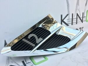 BENTLEY CONTINENTAL GT W12 2018 LEFT SIDE GRILL WING FENDER TRIM VENT 3SD821273