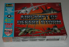 Sealed Aircraft of Desert Storm by Revell 1:72 Collectors Set with Four Jets