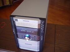 Sharp XL-HP515 5 Disc Changer CD Player/Cassette Deck Receiver Tested Working