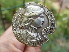 Ancienne Jolie Epingle A Chapeau Jeanne D'Arc 1431 - Hat Pin