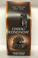FERRERO RONDNOIR FINE DARK CHOCOLATE PEARL CENTER CANDY