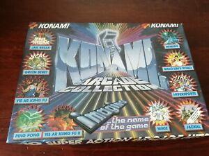 Konami's Arcade Collection  - ZX Spectrum 48K/128K Imagine Working 1988 BIg Box