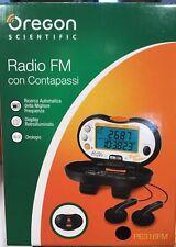 Radio FM con Contapassi ' Oregon Scientific ' PE316FM