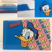 Vintage Walt Disney Donald Duck 80s/90s Photo Album ~ Retro, Unique & Rare Merch