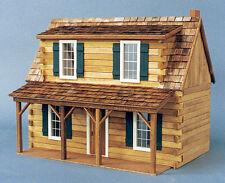 Dollhouse Kit - Adirondack Log Cabin - J550