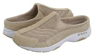 EASY SPIRIT Travel Time Leather Sneaker Clogs, Med, Narrow, Wide & X Wide