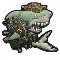 Kampfschwimmer Combat Diver SharkProject Hai Rettung Charity Spenden Patch
