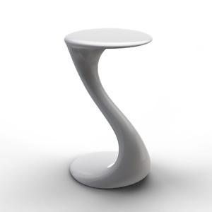 QERMEZI Furniture Oyun Side Table Set of 2 White