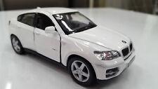"New 5"" Kinsmart BMW X6 SUV Diecast Model Toy Car 1:38- White"