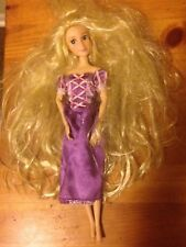 Disney Tangled Rapunzel Barbie Size Doll